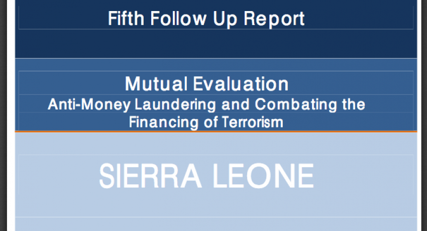 Fifth Follow-Up Report of Sierra Leone