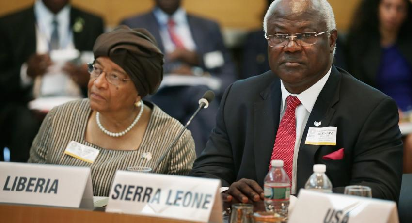 President Koroma Boosts Campaign against Money Laundering and Terrorism Financing