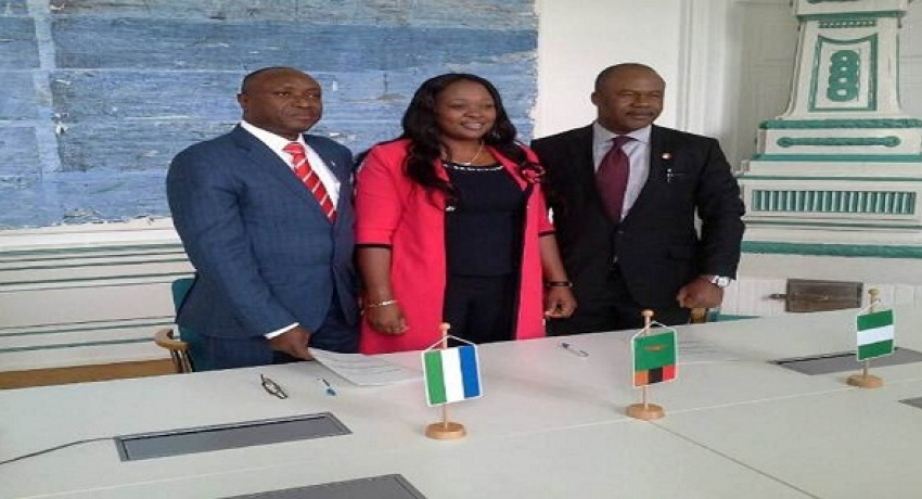 FIU Directors of the Financial Intelligence Units of Sierra Leone, Zambia and Nigeria